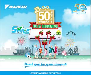 Daikin Promotions