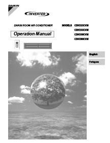 daikin split system remote manual